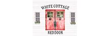 White Cottage Red Door